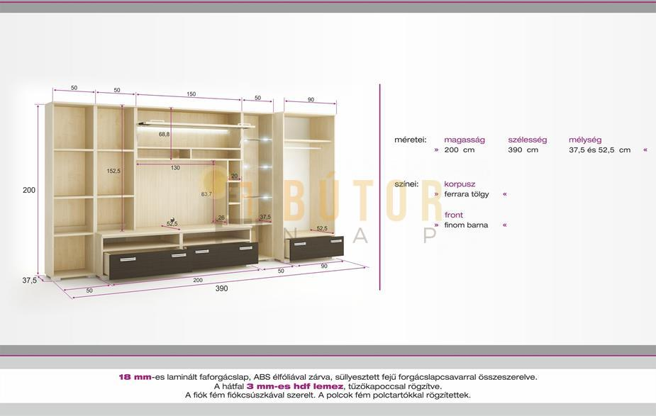 tokyo szekr nysor ft b. Black Bedroom Furniture Sets. Home Design Ideas